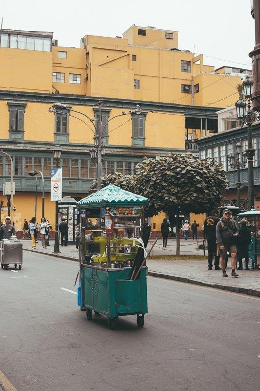 Het historische centrum van Lima is zeker een bezoek waard.