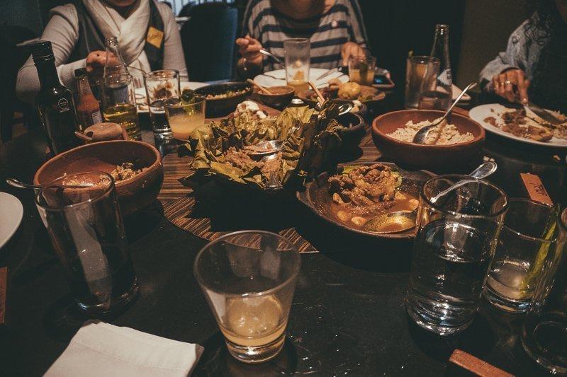 Heerlijk eten in Amaz Restaurant.