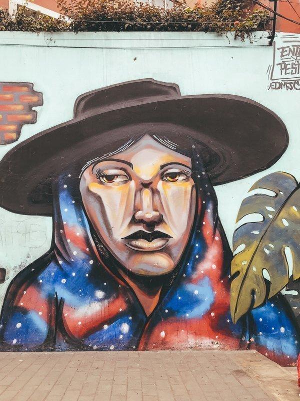 In de wijk Barranco vind je de mooiste street art.