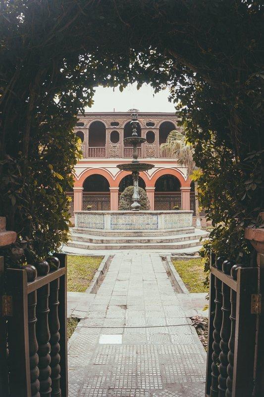 Het klooster in Lima is zeker een bezoek waard.