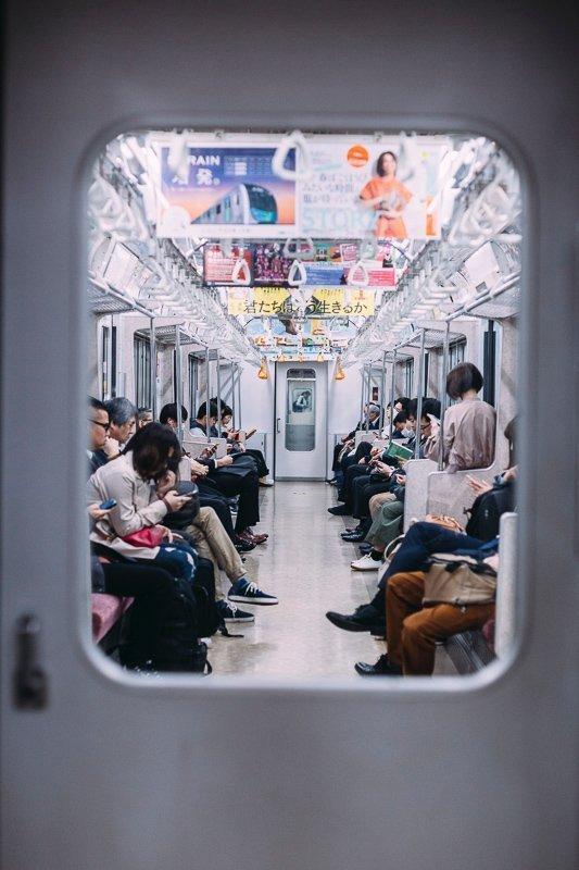 De metro in de steden van Japan is de ideale manier om je te verplaatsen.