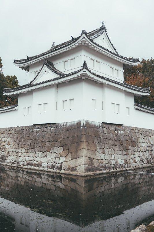 Het prachtige Nijo kasteel in Japan.
