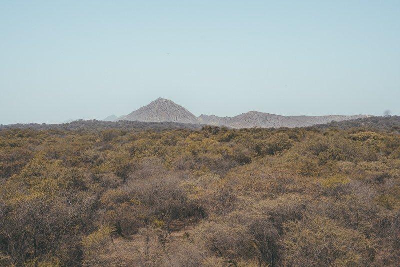 De omgeving van Lambayeque.