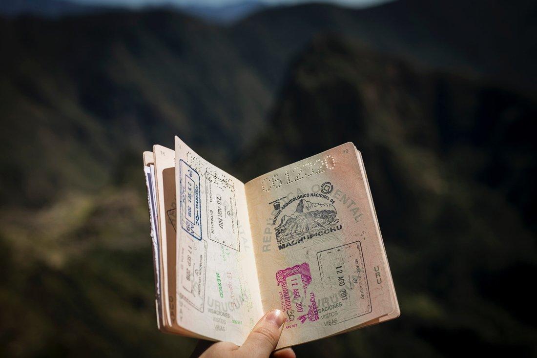 paspoort afgeven op vakantie