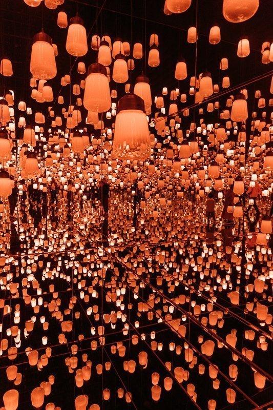Digital Art Museum in Tokyo.