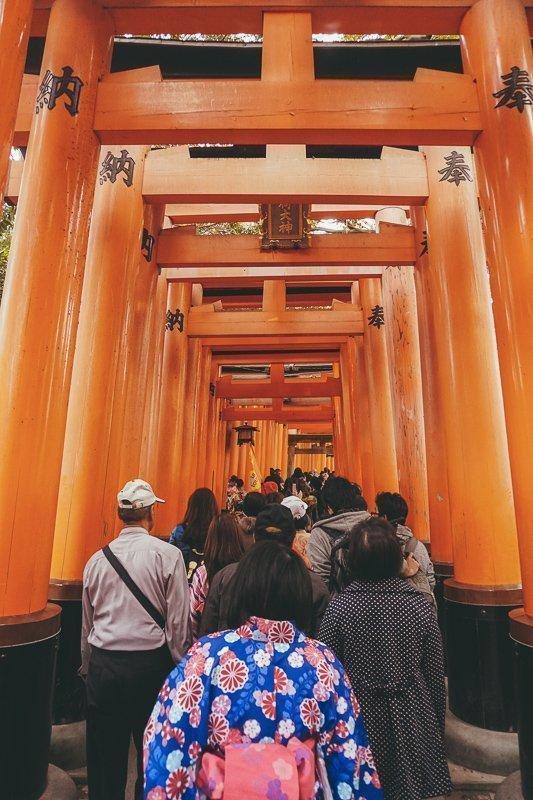 Fushimi Inari-Taisha is een van de leukste Kyoto bezienswaardigheden.