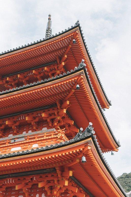 De mooie tempels van Kyoto.