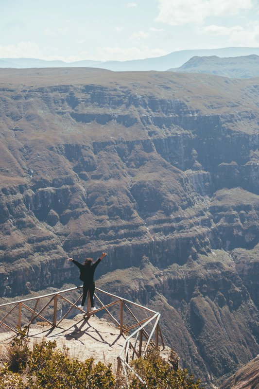 De prachtige Sonche Canyon.