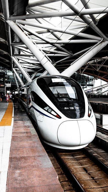 De treinen in Japan zijn echt ideaal!