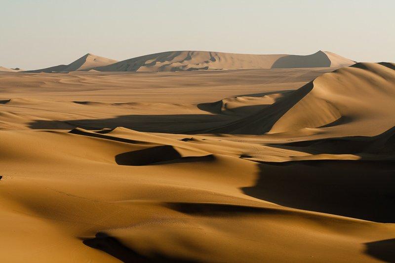 Waarom op reis door Peru? Omdat het alle soorten landschappen heeft, zelfs woestijn!