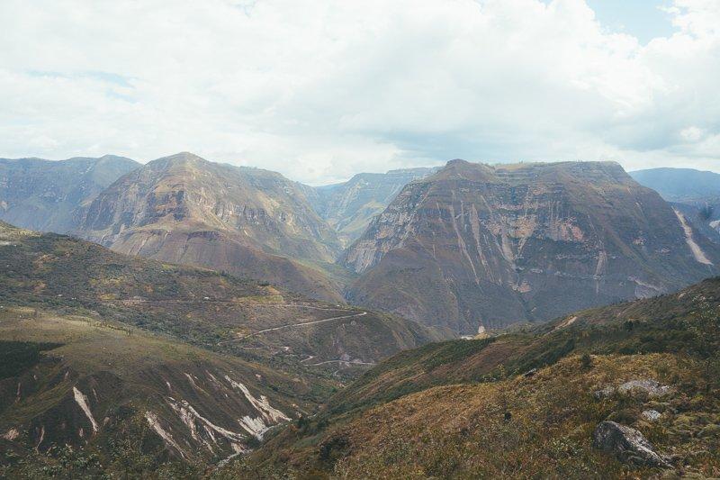 Peru kent immense bergen.