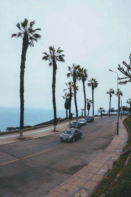 Barranco ligt aan de kust.