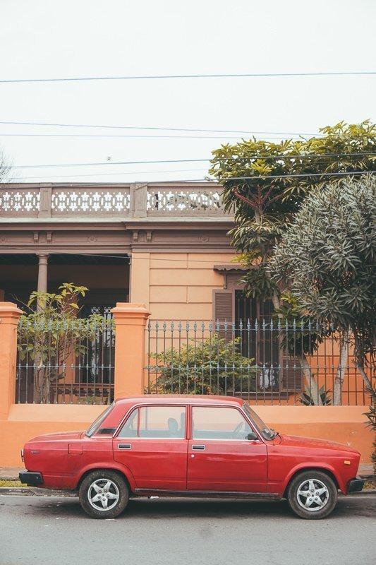 Barranco is zeer kleurrijk.