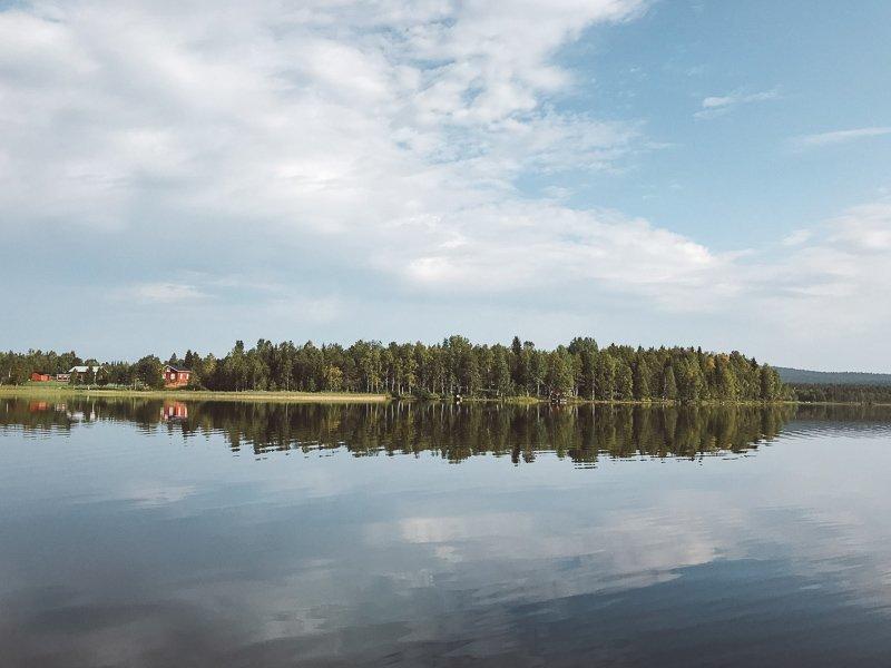 In Yllas vind je slechts twee dorpen, met in totaal 1.200 inwoners.