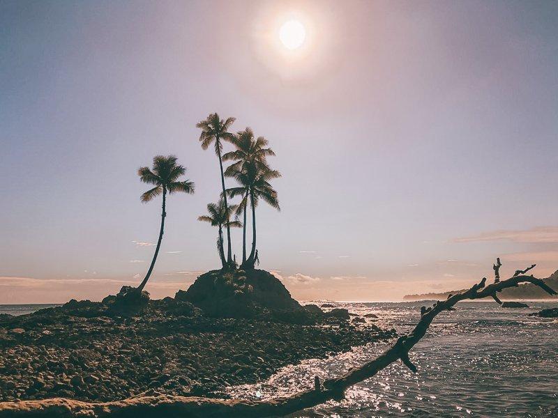 De mooie kust van Costa Rica.