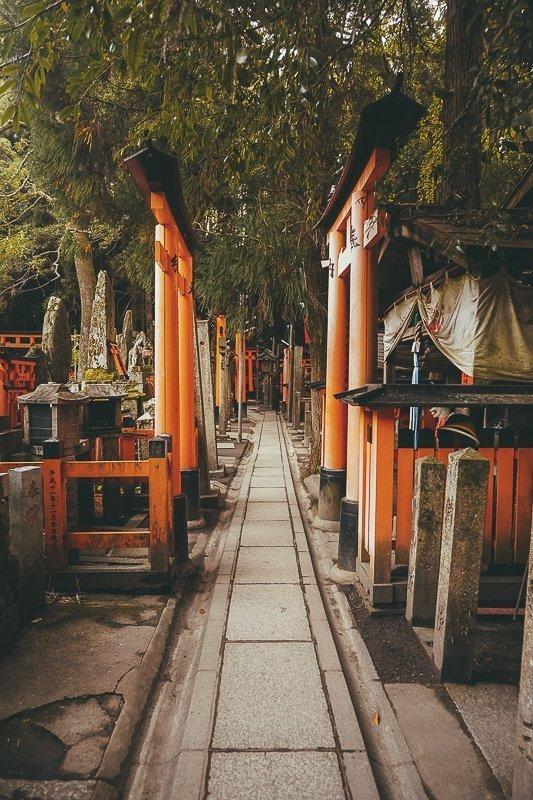 Fushimi Inari-Taisha bij Kyoto.