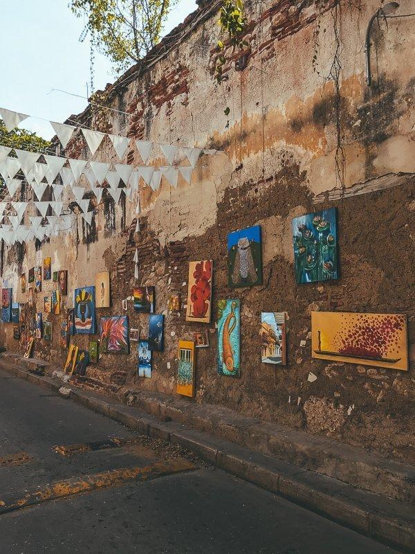 Kunst in Getsemani