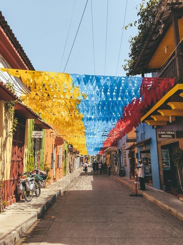 De kleurrijke straten van Getsemani