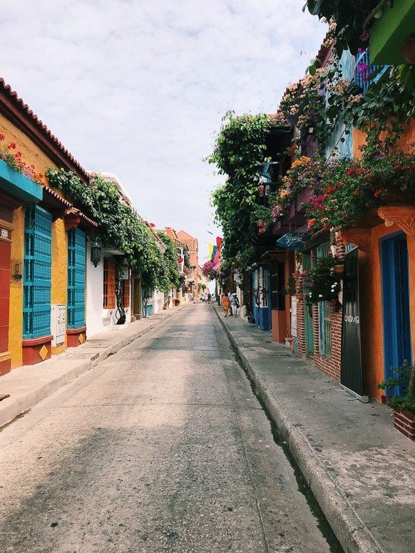 De mooie straten van El Centro