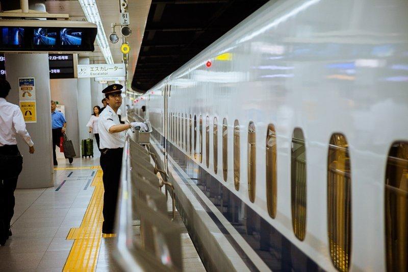 De kosten van de metro's in Tokyo en Kyoto zijn erg laag.