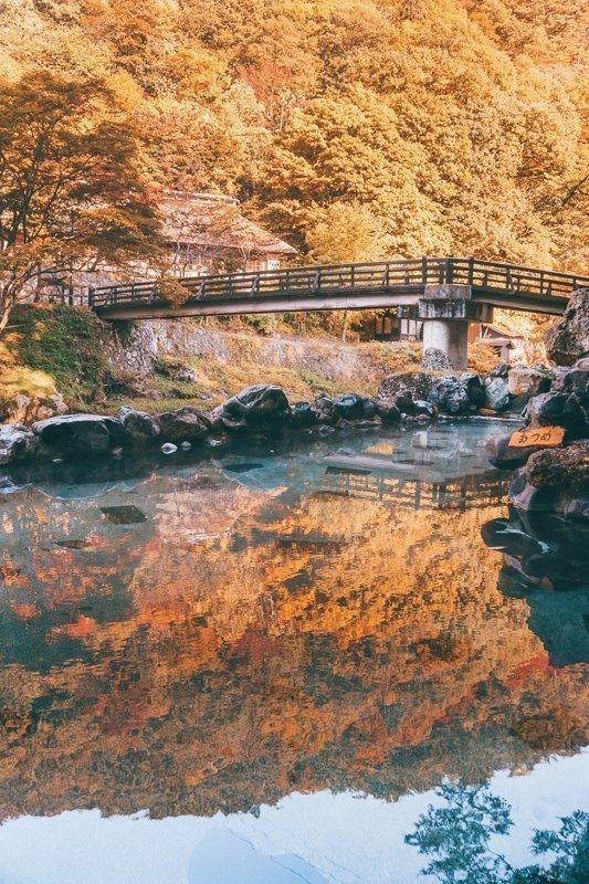 Herfstkleuren in Tohoku.