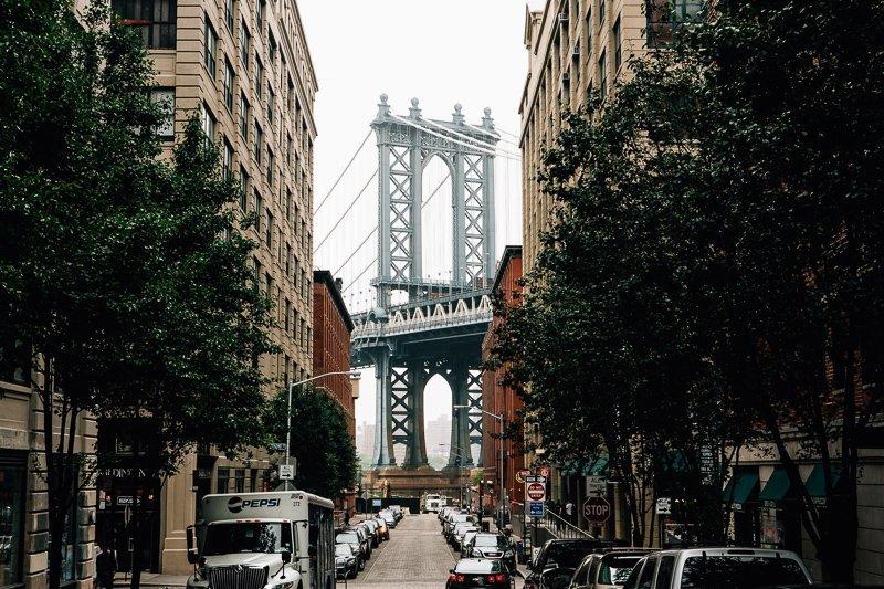 Een van de meest Instagrammable plekken van NYC in Brooklyn!