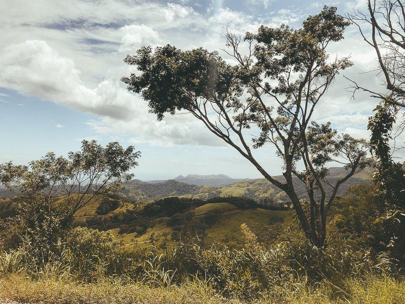 Prachtig uitzicht in Monteverde.