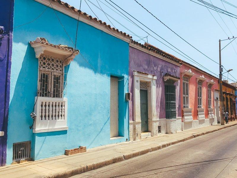 De prachtige huizen in Colombia