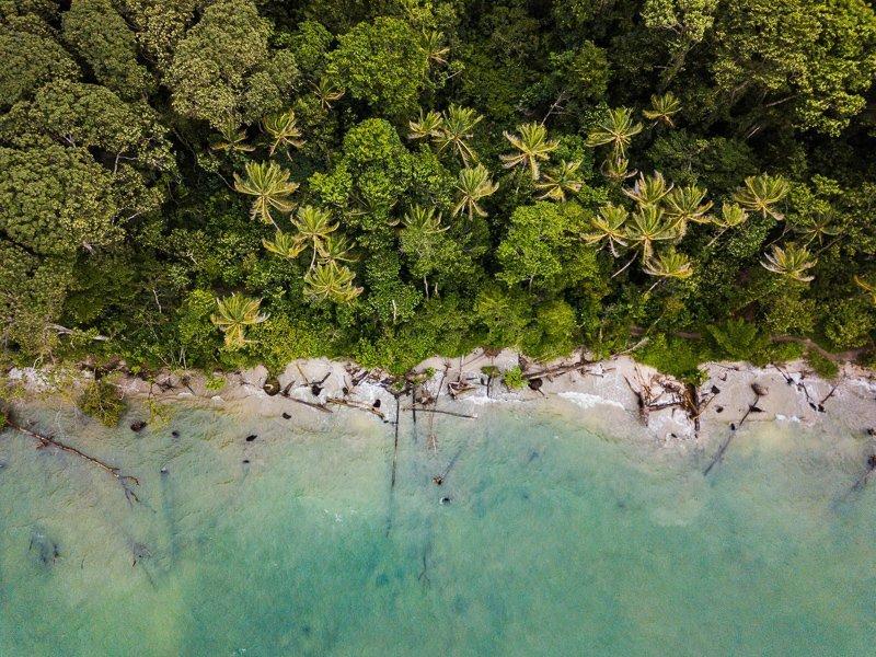 Tijdens het backpacken in Costa Rica relax je aan de mooiste stranden.