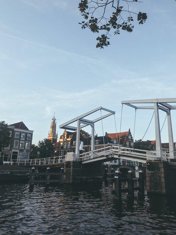 Het centrum van Haarlem.