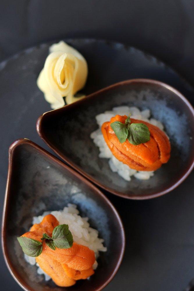 Traditioneel eten in Noord-Japan.
