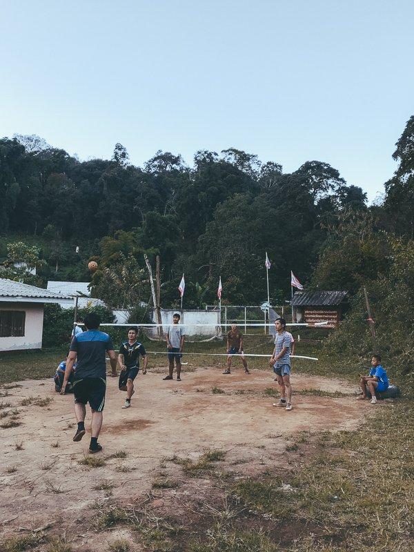 Pha Mon, een dorpje in een van de nationale parken nabij Chiang Mai.