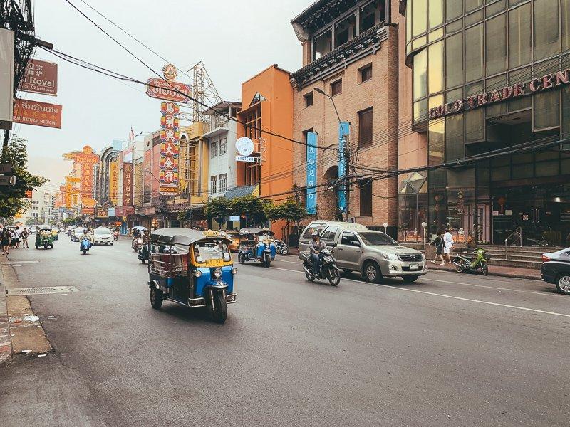 Eindig de Thailand route in Bangkok!