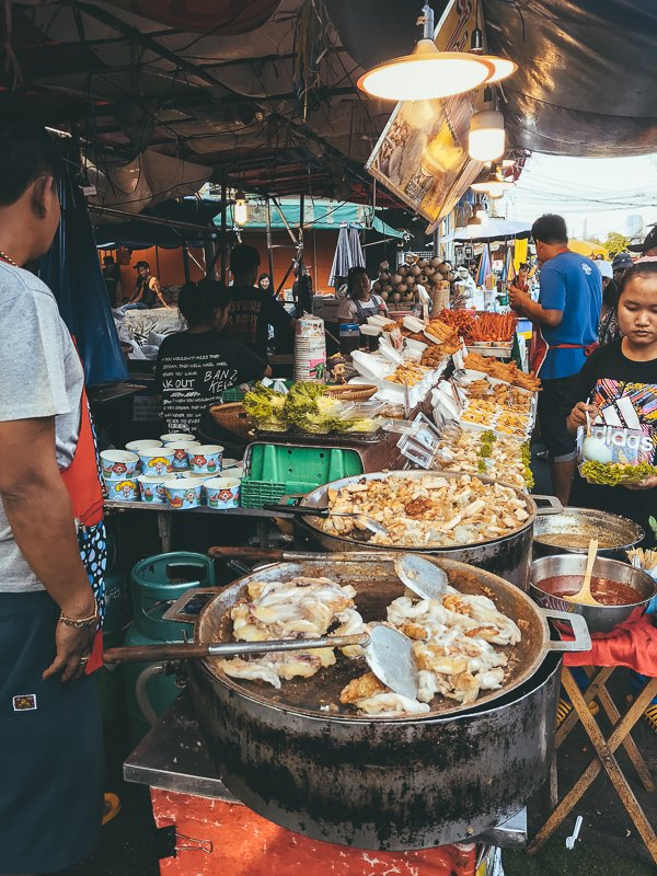 De Weekend Market in Bangkok