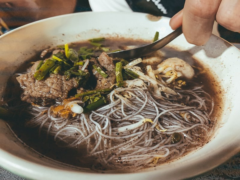 Tijdens een paar dagen in Chiang Mai kun je heerlijk eten.
