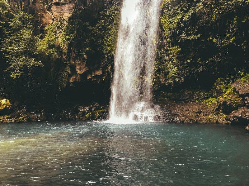 Watervallen in het Rincon de la Vieja National Park.