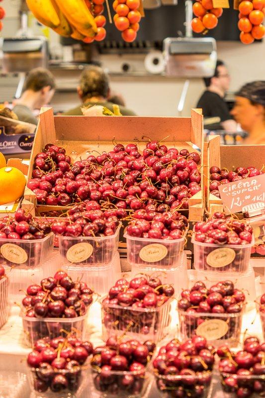 Ga naar de markt in Barcelona voor verse hapjes!