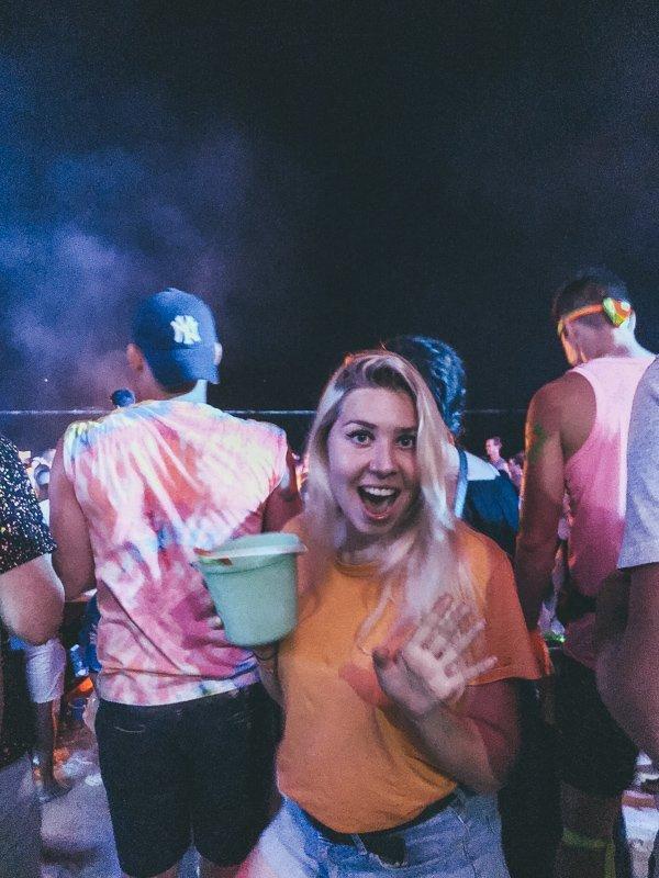 Full moon party op Koh Phangan