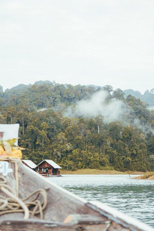 Op weg naar Khao Sok Lake.