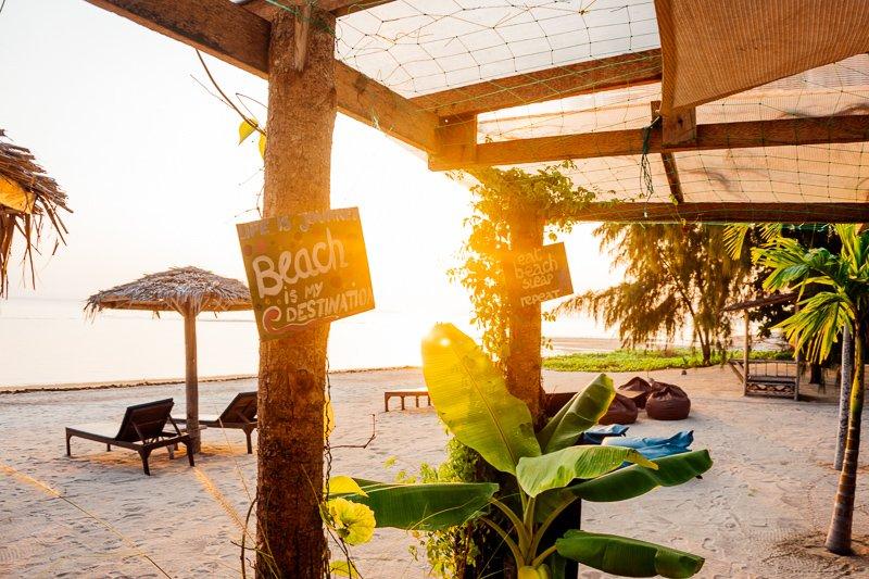 Het strand op Koh Phangan