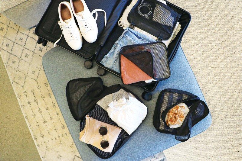 Packing cubes zijn zeer handig voor op reis!