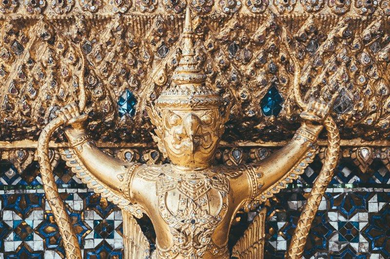 Grand Palace in Bangkok.