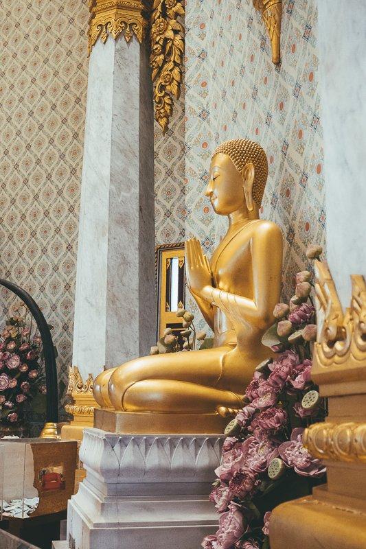 De tempels zijn de belangrijkste Bangkok bezienswaardigheden