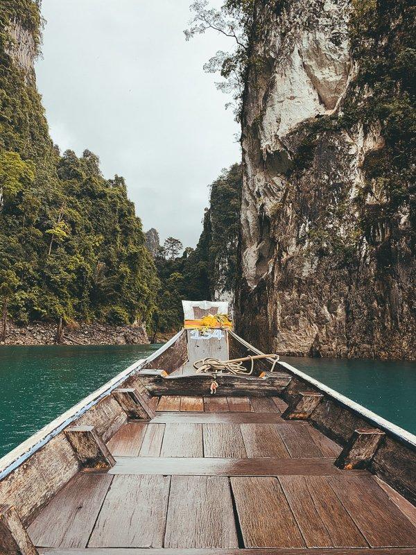 De mooie longtailboten van Thailand.
