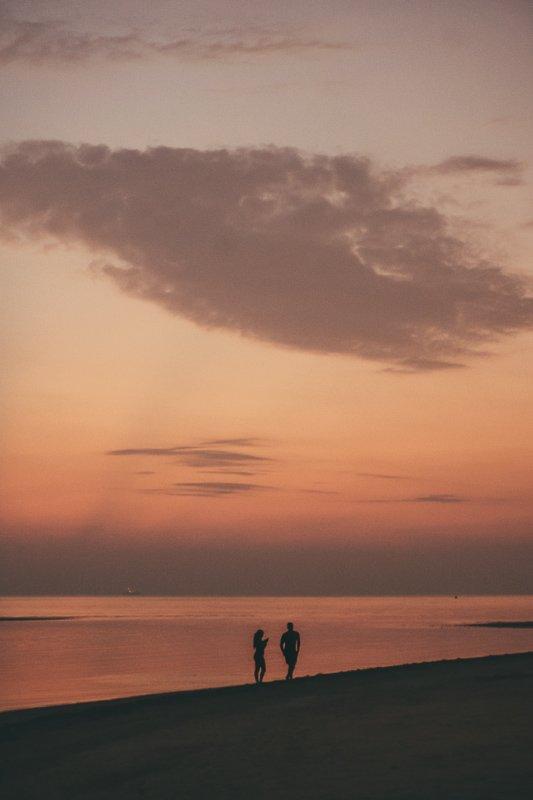 Zonsondergang in Thailand