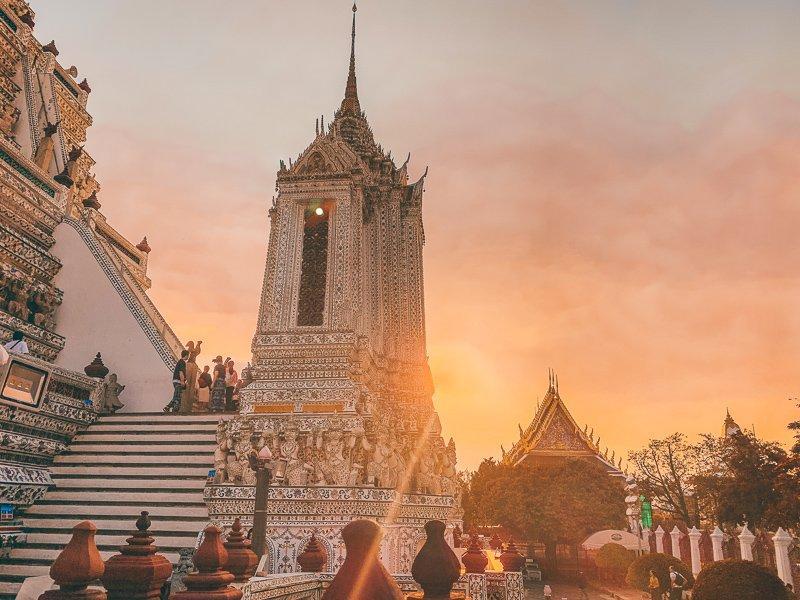 De prachtige tempels van Bangkok.