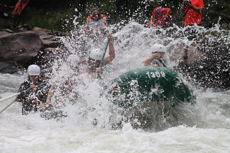 Hier kun je het beste raften in Costa Rica!