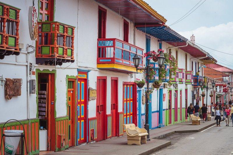 Het kleurrijke centrum van Salento