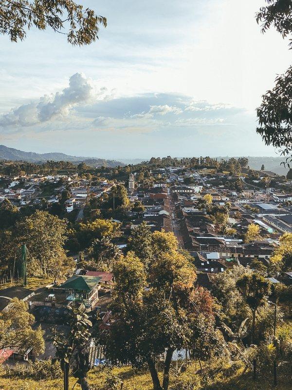 Het uitzicht op Salento