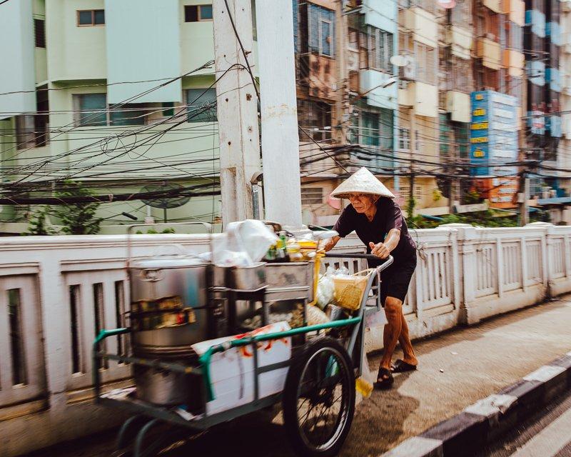 Het straatbeeld van Bangkok!